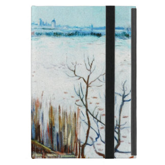 Van Gogh Snowy Landscape w Arles, Vintage Fine Art Case For iPad Mini