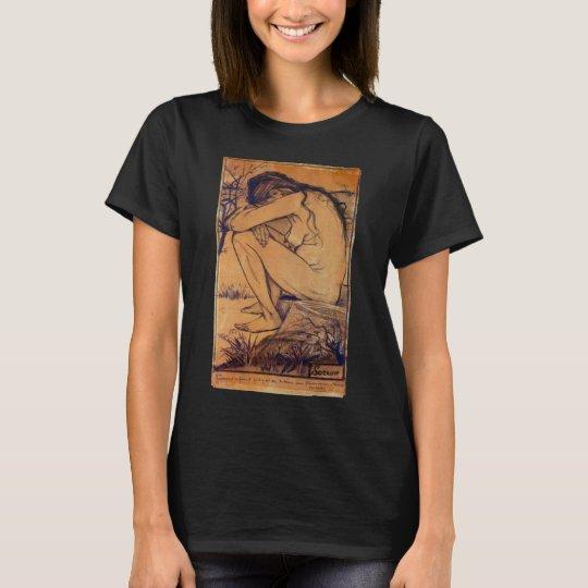 Van Gogh, Sorrow, Vintage Post Impressionism Art T-Shirt