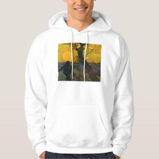Van Gogh Sower With Setting Sun Hoodie