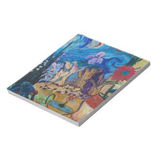 Van Gogh Spirit Notepad