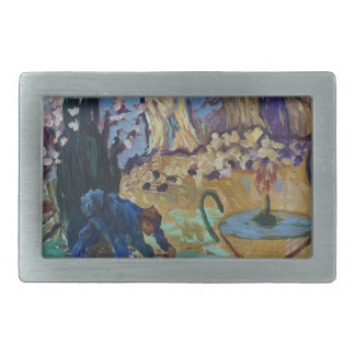 Van Gogh Spirit Rectangular Belt Buckle