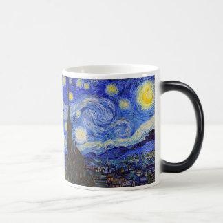 "Van Gogh, ""Starry Night"" 11 Oz Magic Heat Color-Changing Coffee Mug"