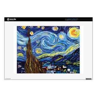 "Van Gogh starry night 15"" Laptop Skins"