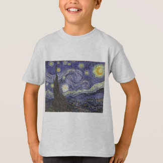 van Gogh - Starry Night (1889) T-Shirt