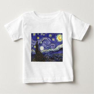 Van Gogh Starry Night Baby T-Shirt
