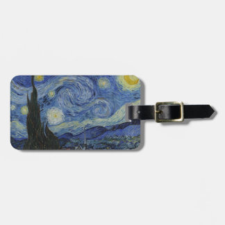 Van Gogh Starry Night Bag Tag
