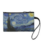 Van Gogh Starry Night bagettes bag Coin Wallets