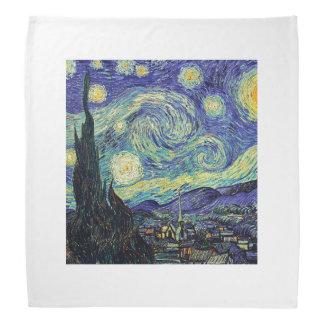 Van Gogh Starry Night Bandana