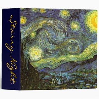 Van Gogh: Starry Night Binder