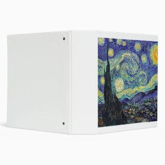 Van Gogh Starry Night Binder