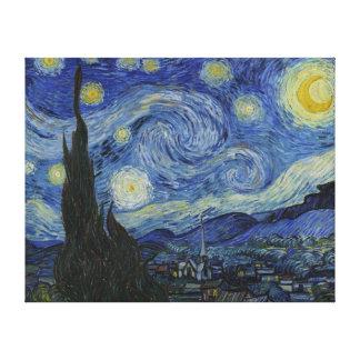 Van Gogh Starry Night Canvas Print