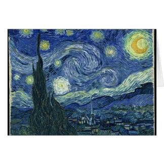 Van Gogh Starry Night Greeting Cards
