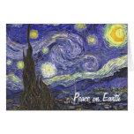 Van Gogh Starry Night Christmas Card