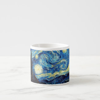 Van Gogh Starry Night Coffee Mug 6 Oz Ceramic Espresso Cup
