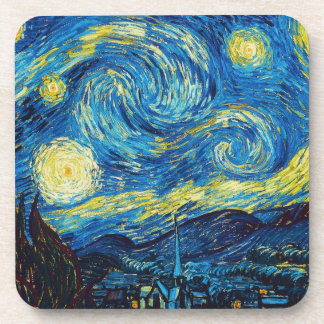 Van Gogh Starry Night Beverage Coaster