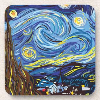 Van Gogh starry night Drink Coaster