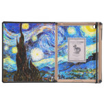 Van Gogh Starry Night (F612) Vintage Fine Art Cover For iPad