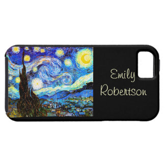 Van Gogh Starry Night(F612)Vintage Fine Art iPhone 5 Cover