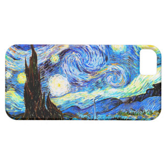 Van Gogh Starry Night(F612)Vintage Fine Art iPhone 5 Cover