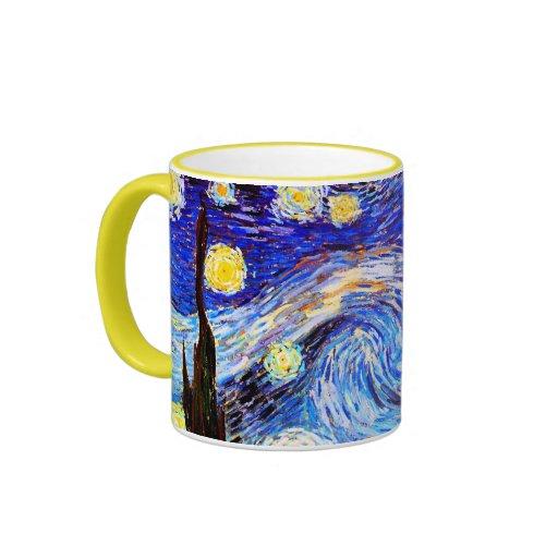 Van Gogh Starry Night (F612) Vintage Fine Art Mug