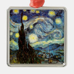 Van Gogh Starry Night (F612) Vintage Fine Art Christmas Ornaments