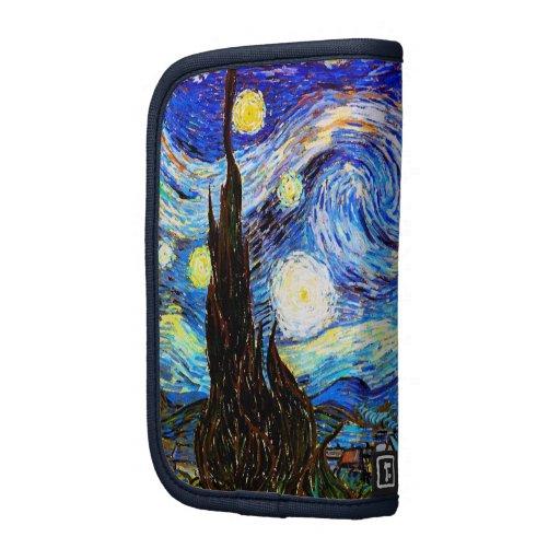 Van Gogh Starry Night (F612) Vintage Fine Art Folio Planner