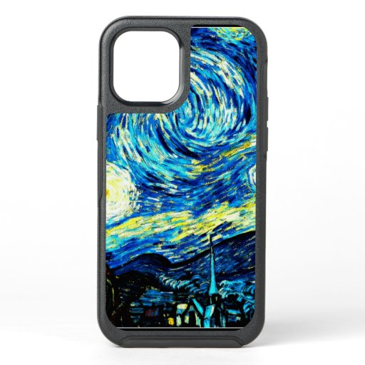 Van Gogh - Starry Night, famous painting OtterBox Symmetry iPhone 12 Pro Case