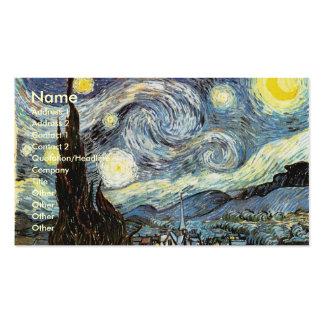 Van Gogh Starry Night Fine Art Business Card