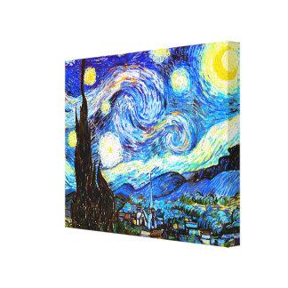 Van Gogh Starry Night Fine Art Canvas Print