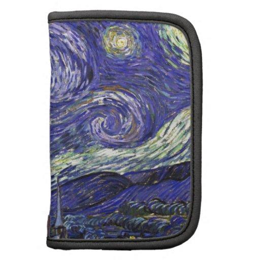 Van Gogh Starry Night Folio Planner