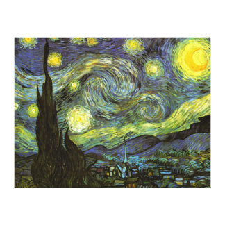 Van Gogh: Starry Night Gallery Wrapped Canvas