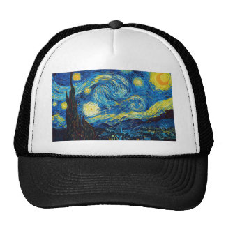 Van Gogh Starry Night Hat
