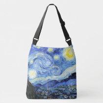 Van Gogh Starry Night Impressionism Tote Bag