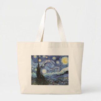 Van Gogh Starry Night Impressionist Painting Tote Bag