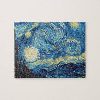 Van Gogh Starry Night Impressionist Painting Jigsaw Puzzle