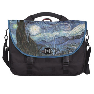 Van Gogh Starry Night Impressionist Painting Commuter Bags