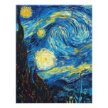 Van Gogh Starry Night Inivtations Personalized Invitations