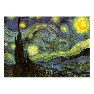 Van Gogh: Starry Night Large Business Card