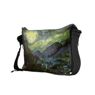 Van Gogh: Starry Night Messenger Bags