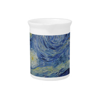 Van Gogh Starry Night,Multi products selected Pitcher