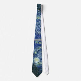 Van  Gogh Starry Night Neck Tie