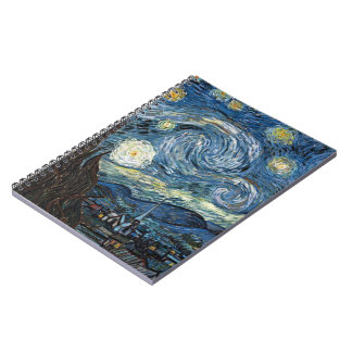 Van Gogh Starry Night Notebook