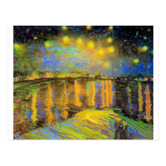 Van Gogh - Starry Night On The Rhone Post Cards