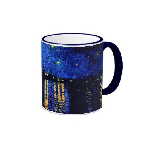 Van Gogh Starry Night Over Rhone (F474) Fine Art Mug