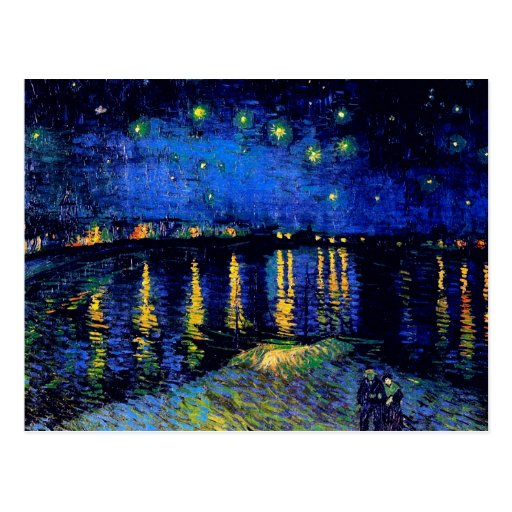 an analysis of the oil painting of starry night over the rhone by vincent van gogh These slow but notable changes in vincent van gogh painting style famous paintings as starry night and oil painting reproduction of vincent van gogh.