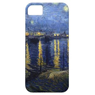 Van Gogh Starry Night Over Rhone iPhone SE/5/5s Case