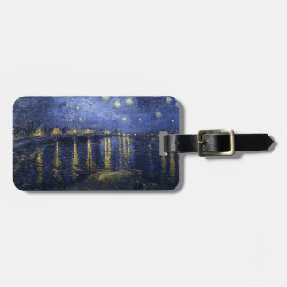Van Gogh | Starry Night Over The Rhone | 1888 Bag Tag
