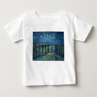 Van Gogh: Starry Night Over the Rhone Baby T-Shirt