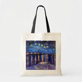 Van Gogh - Starry Night Over The Rhone Bag