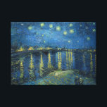 "Van Gogh: Starry Night Over the Rhone Canvas Print<br><div class=""desc"">Van Gogh: Starry Night Over the Rhone.  Fantastic classic landscape painted by the Dutch painter Vincent Willem van Gogh. 